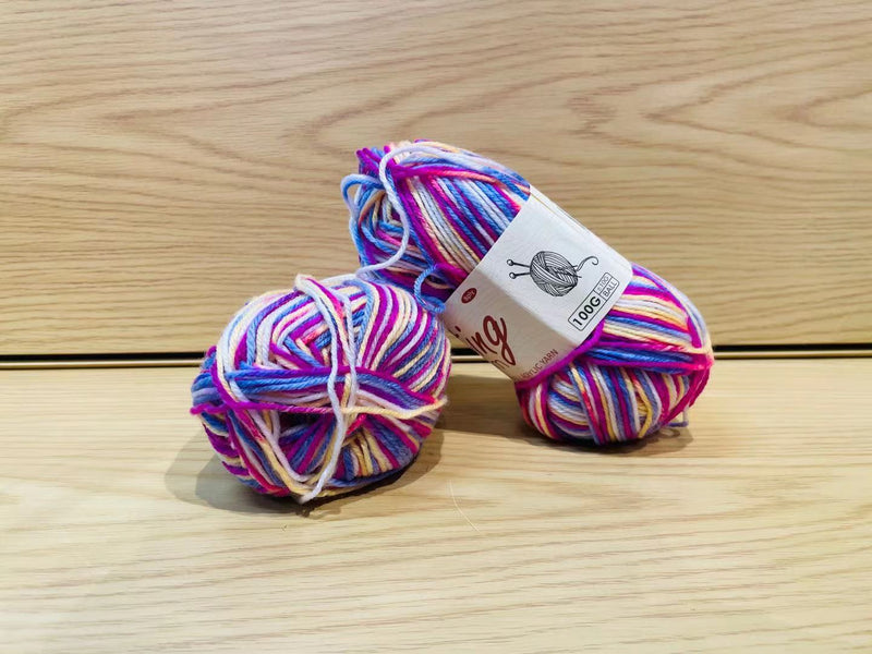 Acrylic Knitting Yarn - Multiple Colour 1
