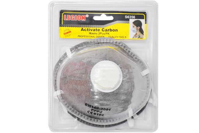 Activate Carbon Masks 2Pcs/Pk