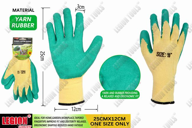 Rubber Coating Gloves