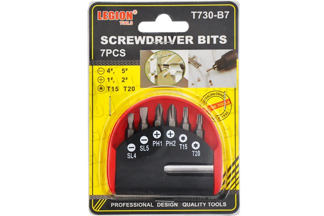 65MM Impact Screwdriver Bit 10Pcs/Set(Magnetic)