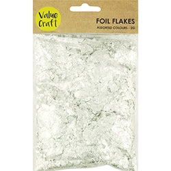 Foil Flakes Silver 2g