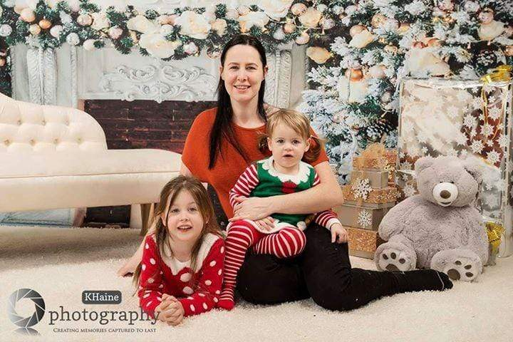 Load image into Gallery viewer, Kate Christmas Photography Backdrop Indoor Studio Props