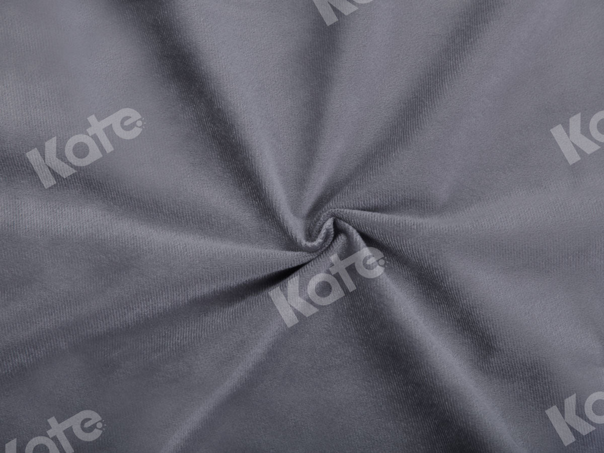 Load image into Gallery viewer, Kate Solid Grey Color Portrait Photography Backdrop(HGCSB)