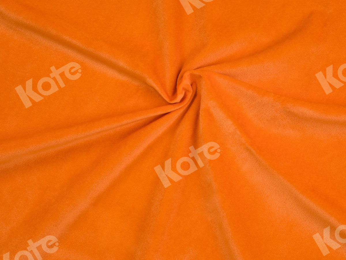 Load image into Gallery viewer, Kate Solid Orange Color Cloth Portrait Photography Backdrop(HGCSB)