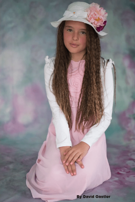 Katebackdrop£ºKate Valentine's Day Pink Flowers Hand Painting Portrait Photography Backdrops