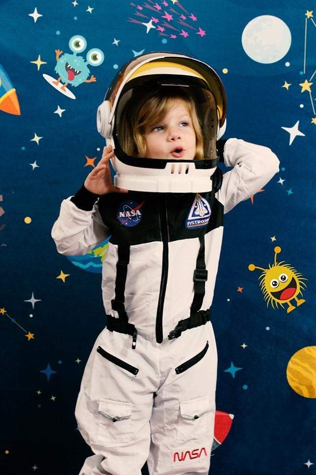 Load image into Gallery viewer, Kate Space astronaut star Backdrop designed by Jerry_Sina