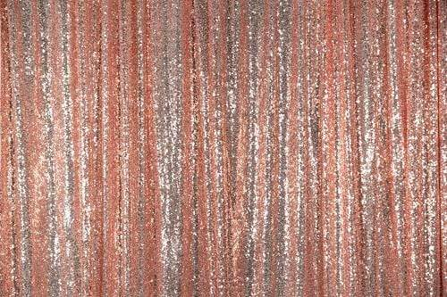 Kate Champagne Gold Sequin Fabric Backdrop