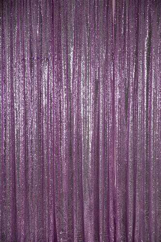 Kate Light Purple Sequin Fabric Backdrop
