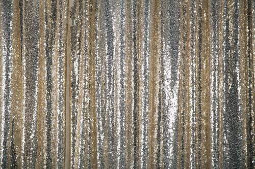 Kate Light Gold Photography Sequin Fabric Backdrop