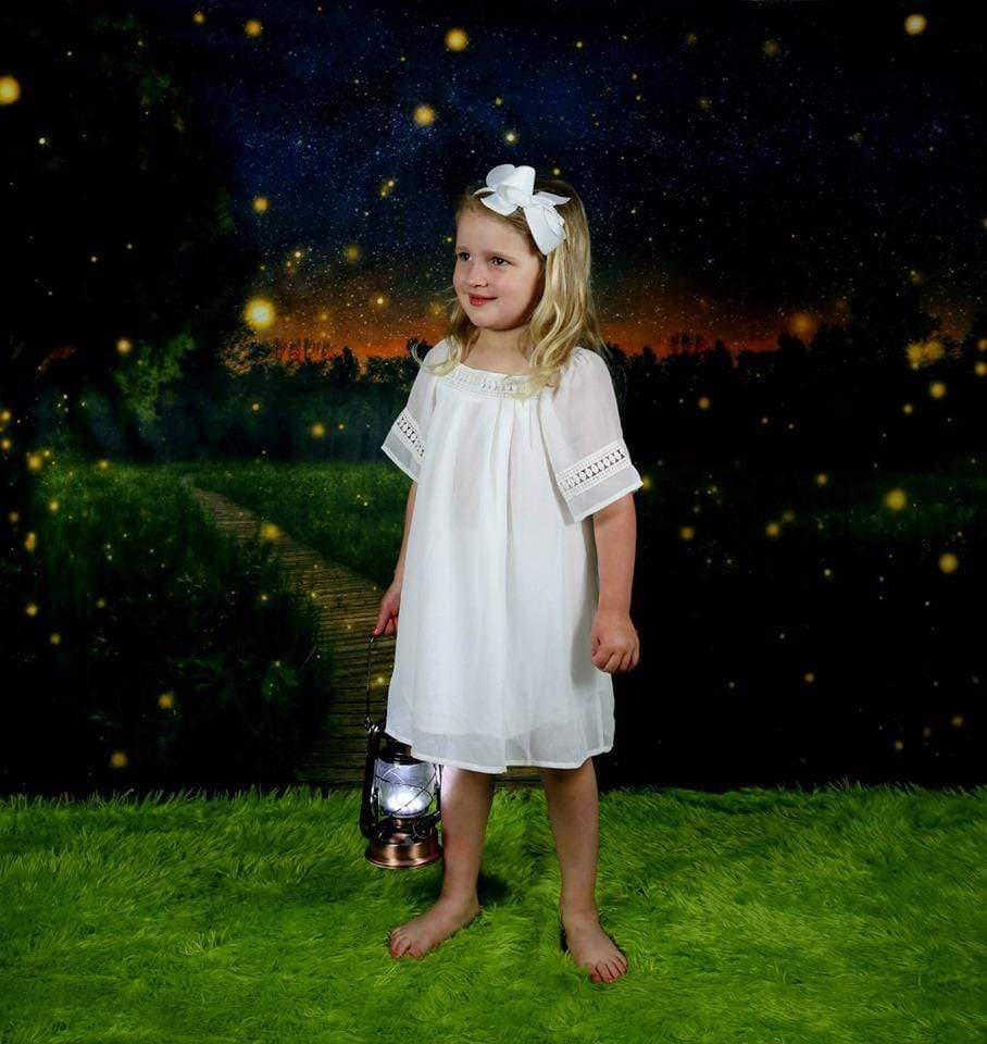 Kate Firefly field Backdrop for Photography Designed by Marina Smith