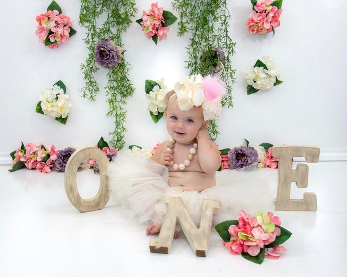 Kate  Flower Grass Decoration Backdrop for Photography Designed By Leann West