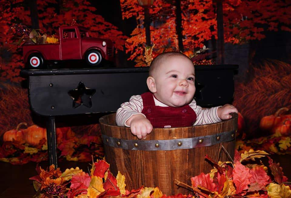 Kate Fall Maple Leaves Thanksgiving Pumpkin Backdrop for Photography Designed By Jerry_Sina