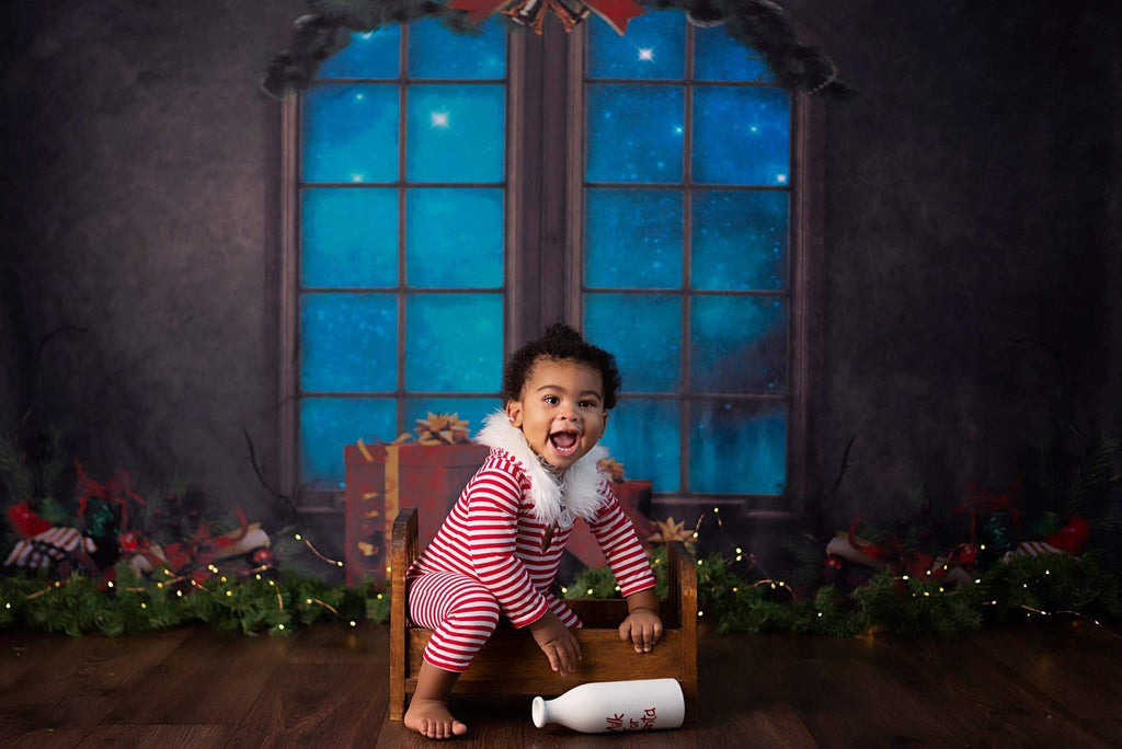 Kate Christmas Gifts Decoration Window Backdrop for Photography Designed By Jerry_Sina
