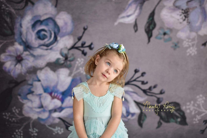 Kate Fine Art Winter Floral Backdrop Designed By Mandy Ringe Photography