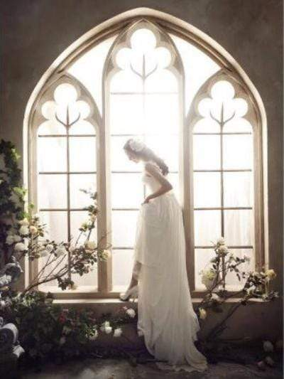 Load image into Gallery viewer, Katebackdrop£ºKate Wedding Flowers Window Frame Photography Backdrops