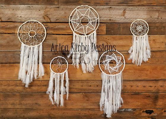 Kate Dreamcatchers Rustic Wall Backdrops Designed by Arica Kirby