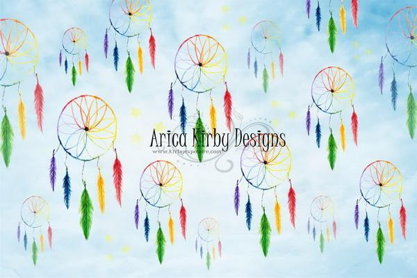Kate Rainbow Dreamcatchers Backdrop Designed by Arica Kirby