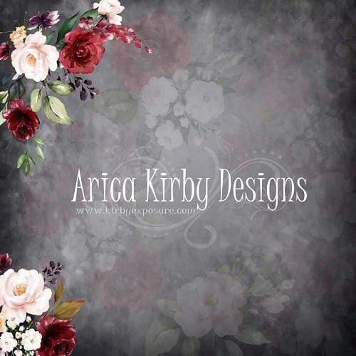 Load image into Gallery viewer, Kate Rose Floral and Abstract Backdrop Designed By Arica Kirby