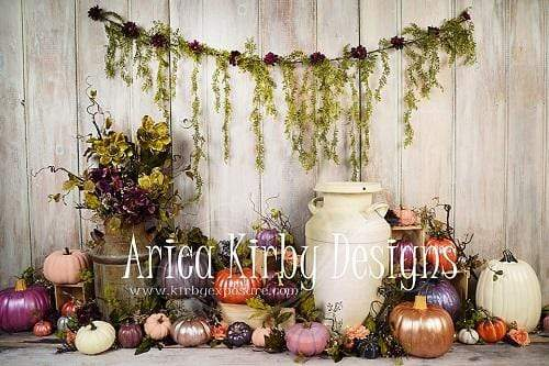 Kate Perfectly Pumpkins Thanksgiving Backdrop Designed By Arica Kirby