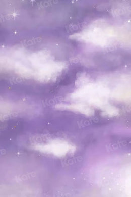 Kate Children Purple Clouds Sky Dream Backdrop for Photography