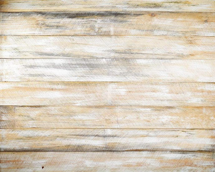 Kate White Wood Washed Barn Rubber Floor Mat
