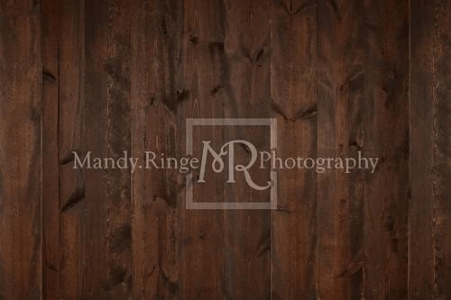 Kate Dark Wood Rubber Floor Mat designed by Mandy Ringe Photography
