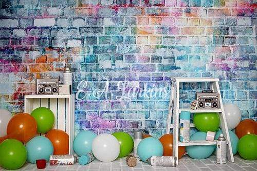 Kate Children Street Fun Backdrop Designed By Erin Larkins