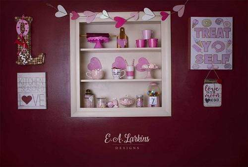 Kate Valentines Kitchen Backdrop Designed By Erin Larkins
