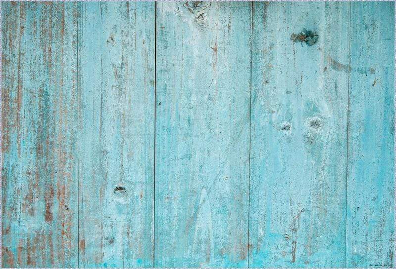 Katebackdrop AU Retro ake Blue Wood Rubber Floor Mat