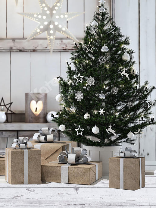 Kate Indoor Christmas Tree Backdrop Designed by Chain Photography
