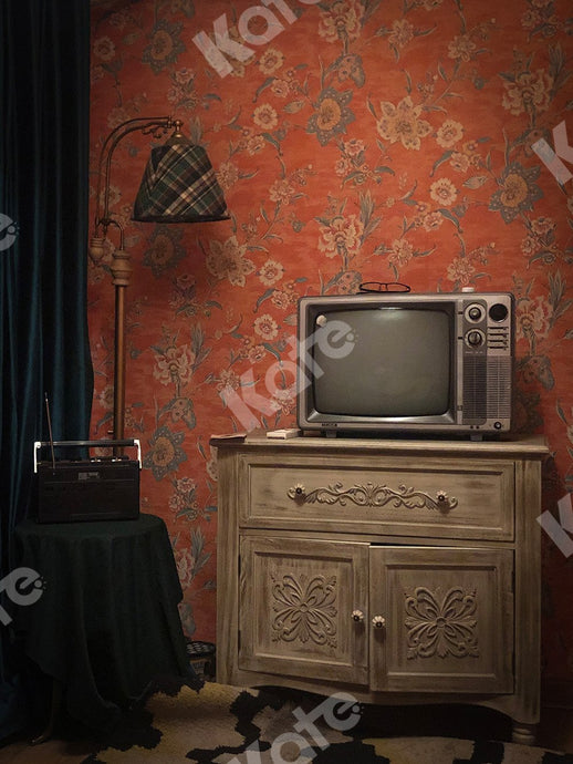 Kate Indoor Backdrop TV Set  80's Room Designed by Emetselch