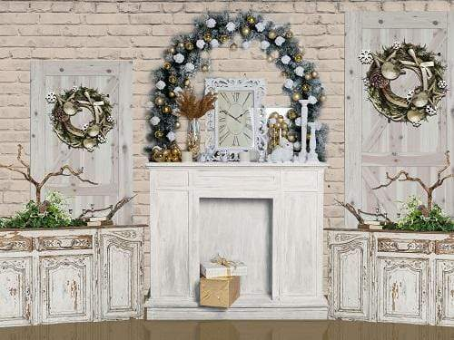 Kate Christmas Decoration Room Backdrop Designed By Jerry_Sina