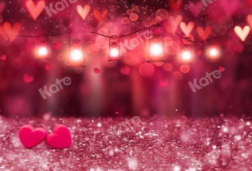 Kate Valentine's Day Pink Bokeh Backdrop for Photography