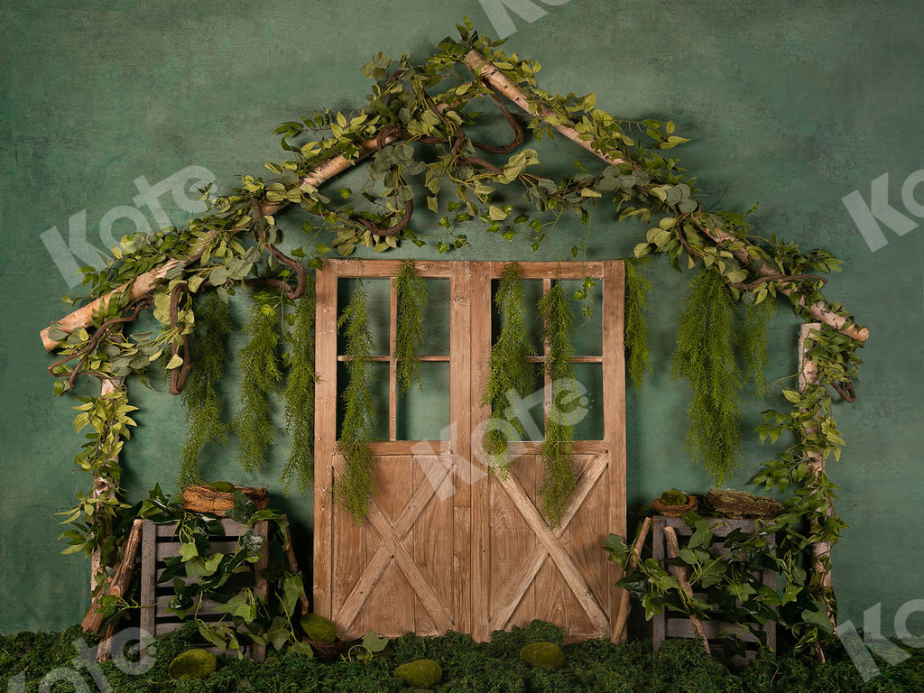 Kate Green Garden Door Summer Backdrop Designed by Jia Chan Photography