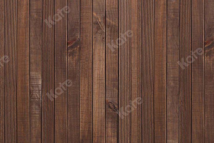 Kate Wooden Chestnut Brown Wood Backdrop Designed by Kate Image