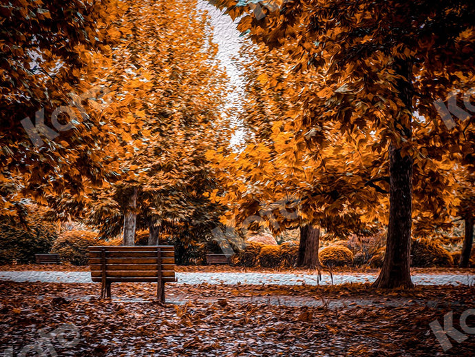 Kate Autumn Outdoor Park Backdrop Designed by Jia Chan Photography