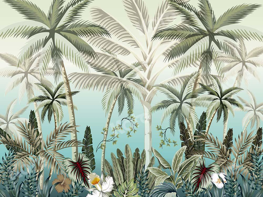 Kate Summer Coconut Palm Trees Designed by Chain Photography