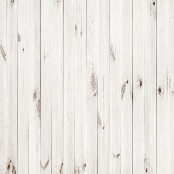 Load image into Gallery viewer, Kate White Wood Retro Wall Background Backdrop