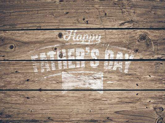 Katebackdrop£ºKate Happy Father'S Day Old Wood Vintage Background For Photography Studio