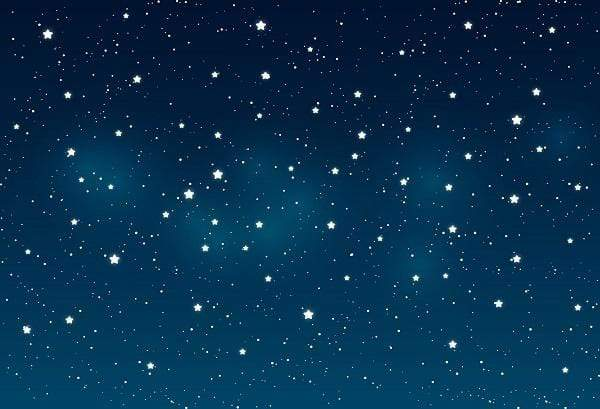 Load image into Gallery viewer, Kate Blue night Sky Star Backdrop Photography backgrounds