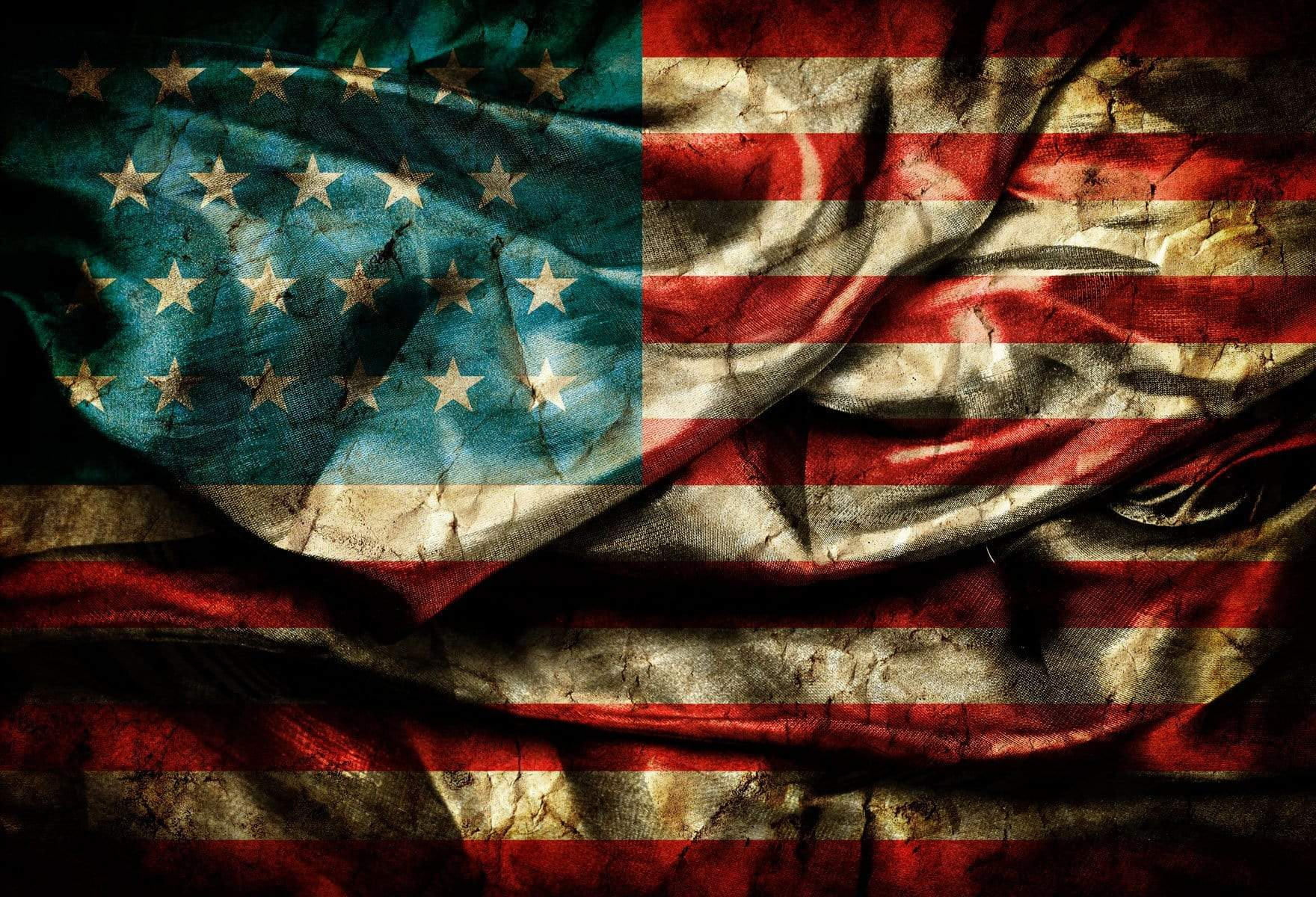 Load image into Gallery viewer, Kate American Flag Independence Day Backdrop for Photography