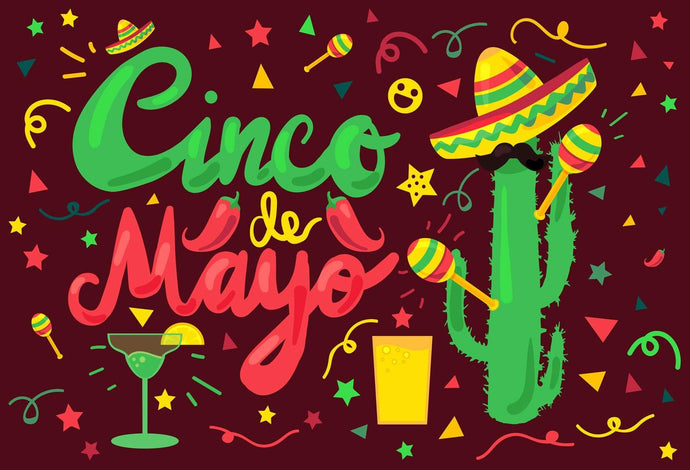 Kate May 5 Mexican Carnival Backdrops for Cinco De Mayo for Event