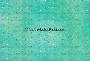 Load image into Gallery viewer, Kate Baby Shower Blue Green Golden Ripples Backdrop for Photography Designed by Mini MakeBelieve