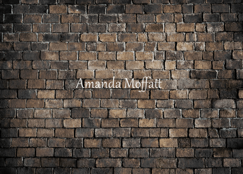 Kate Sooty Brick Wall Backdrop for Photography Designed by Amanda Moffatt