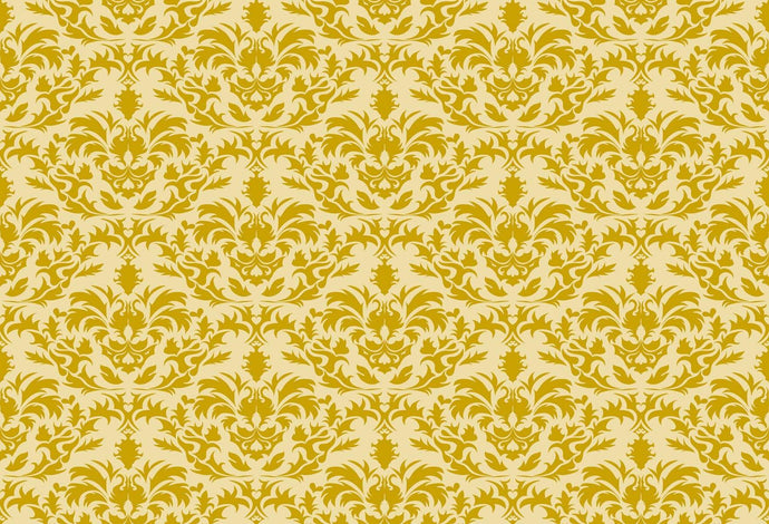 Kate Damask Classic Golden Pattern Backdrop for Photography