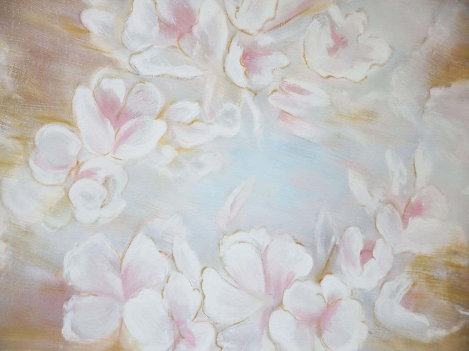 Load image into Gallery viewer, Kate Fine art Painting flowers Backdrop