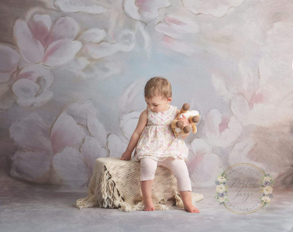 Kate Fine art Painting flowers Backdrop