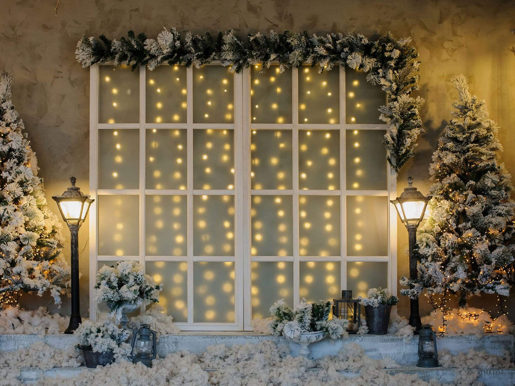 Kate Bright Christmas Decoration Flowers Backdrop