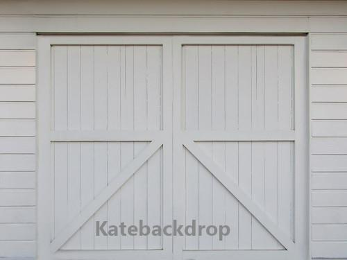 Kate White Barn Door Backdrop for Photography