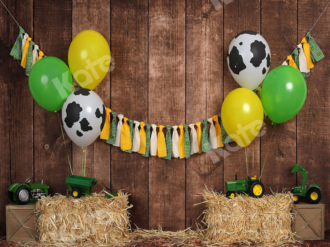 Kate Fall Tractor Celebration Children Backdrop